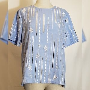 English Factory Blue Large Top